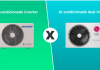 ar condicionado dual e inverter